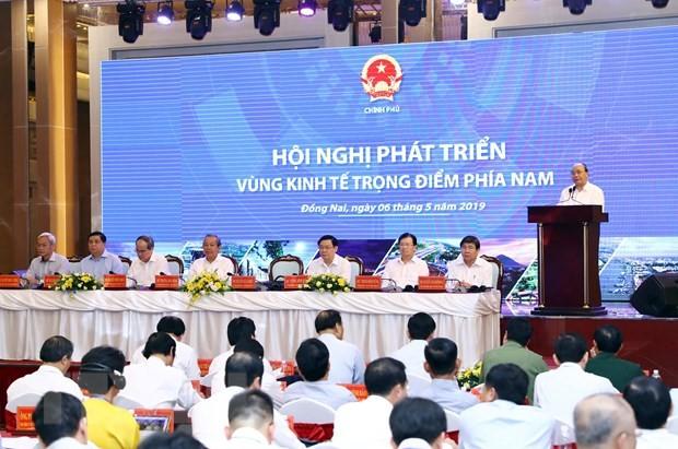 Southern economic zone to set forth long-term development vision - ảnh 1