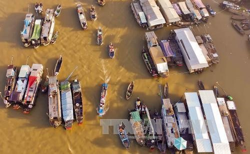 Can Tho makes Cai Rang floating market the best place to visit - ảnh 1