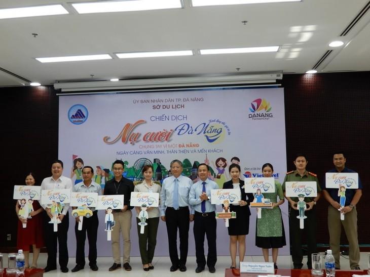 """Lancement de la campagne """"Sourire de Dà Nang"""" - ảnh 1"""