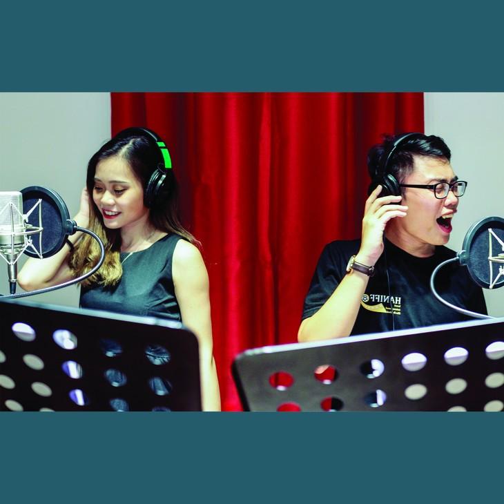Duo: Duong Bao Phuong-Nguyen Duc Huy - ảnh 1