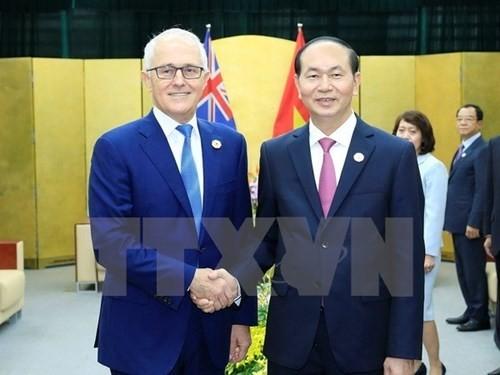 APEC 2017 : Le Premier ministre australien s'engage en faveur du TPP - ảnh 1