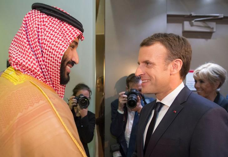 Emmanuel Macron à Riyad pour «travailler à la paix» - ảnh 1