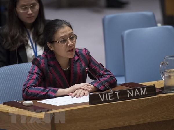 Le Vietnam appelle l'ONU à régler le conflit israélo-palestinien - ảnh 1