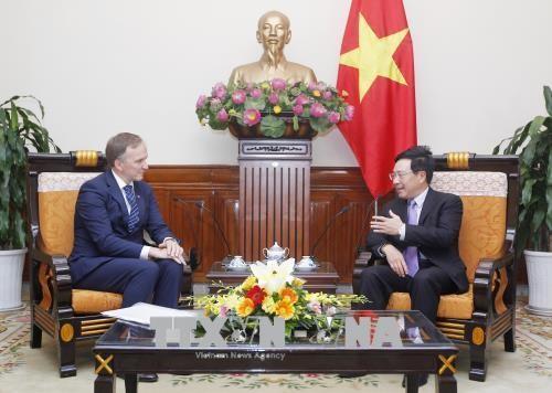 Consultation politique Vietnam - Lettonie - ảnh 1
