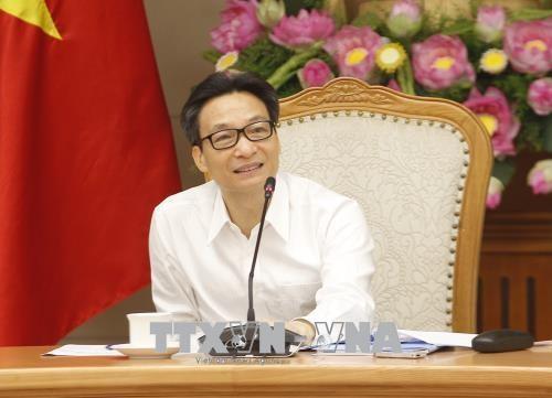 Vu Duc Dam préside la réunion du Conseil national sur le développement durable - ảnh 1