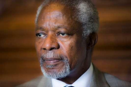 Mort de Kofi Annan, ancien secrétaire général de l'ONU et prix Nobel de la paix - ảnh 1