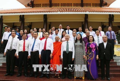 Trân Thanh Mân rend hommage au président Tôn Duc Thang - ảnh 1