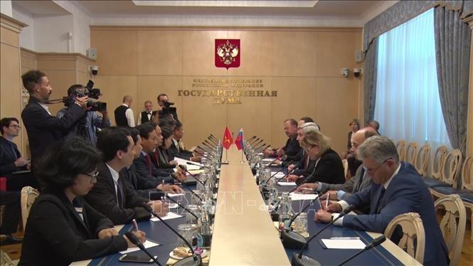 Intensification du partenariat stratégique intégral entre le Vietnam et la Russie - ảnh 1