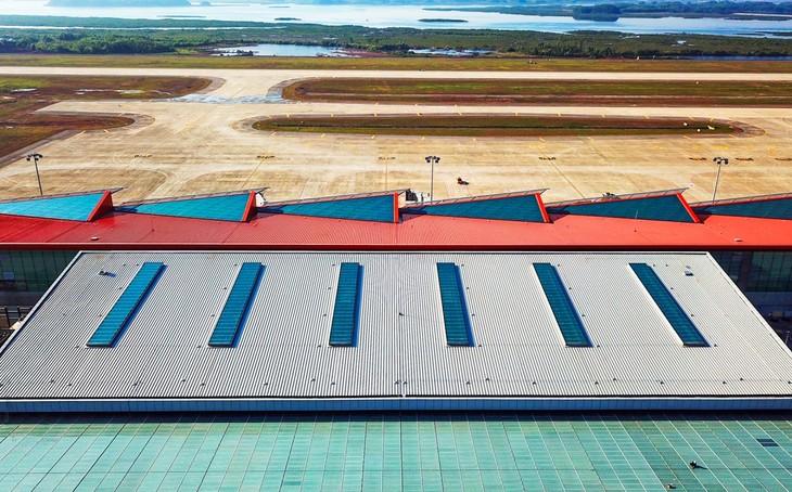L'aéroport international de Vân Dôn  - ảnh 9
