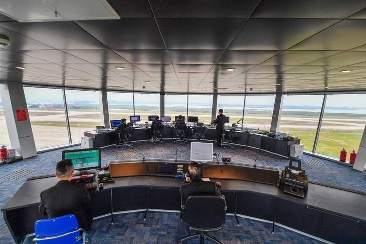 L'aéroport international de Vân Dôn  - ảnh 11