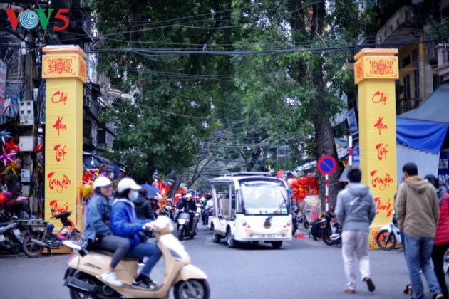 Hanoi à l'approche du Têt - ảnh 1