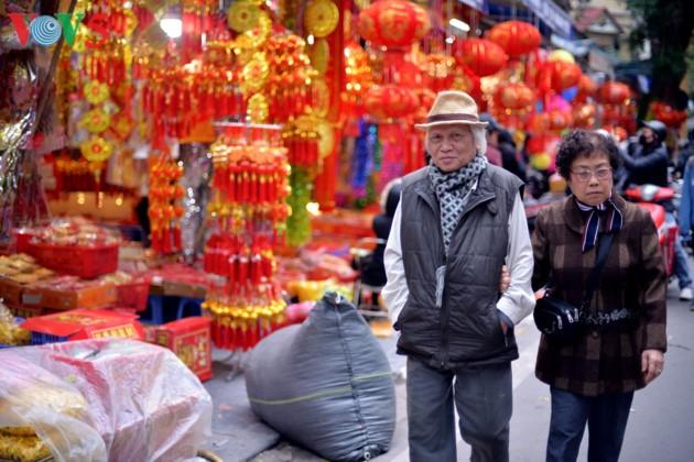 Hanoi à l'approche du Têt - ảnh 11