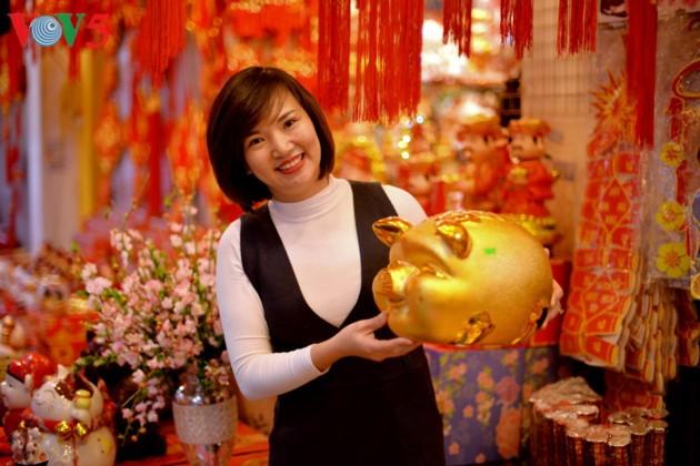 Hanoi à l'approche du Têt - ảnh 14