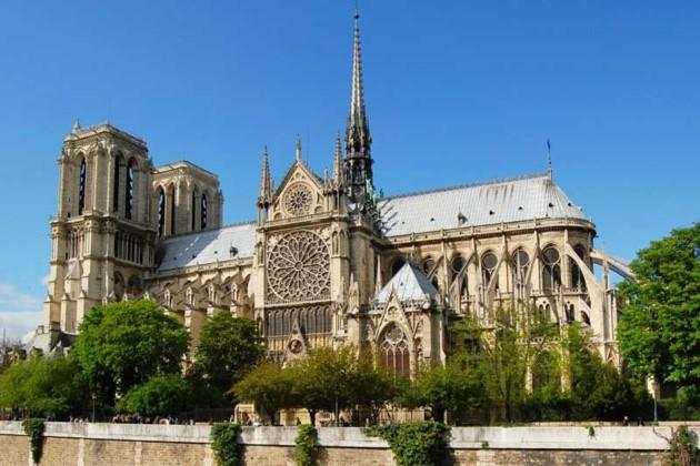La cathédrale Notre-Dame de Paris avant le drame - ảnh 1