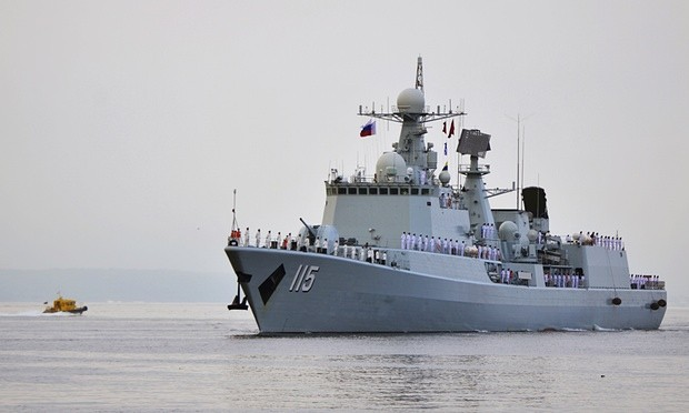 Chinese vessels sailing off Alaska - ảnh 1