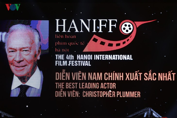 Spectaclular closing ceremony of Hanoi International Film Festival  - ảnh 6