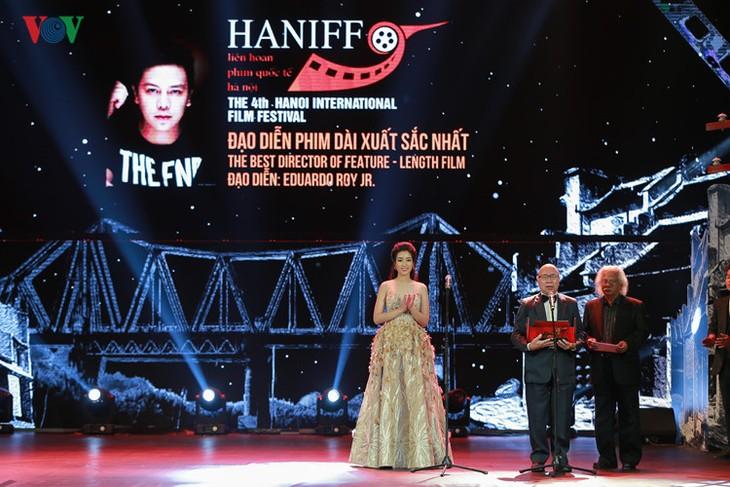 Spectaclular closing ceremony of Hanoi International Film Festival  - ảnh 8