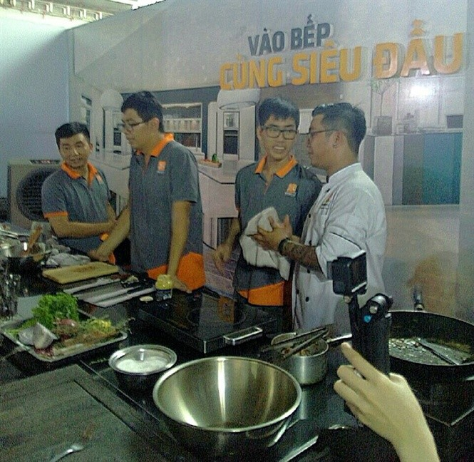 World Food Festival brings global cuisine to Ho Chi Minh city - ảnh 1