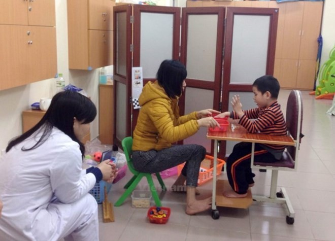 Vietnam Autism Awareness Day opens in Bac Ninh - ảnh 1