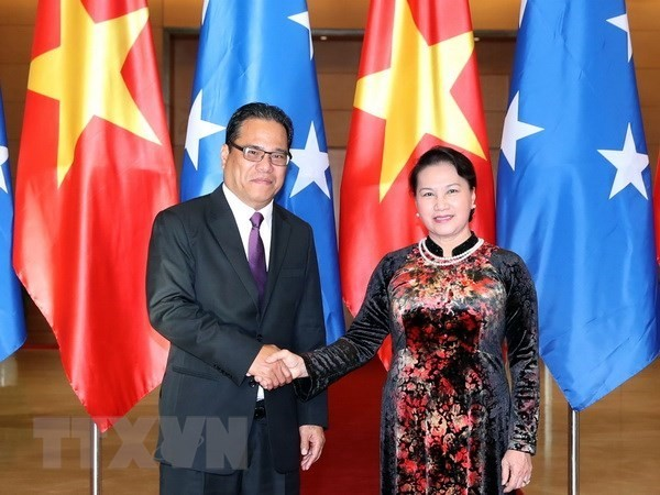 Micronesian Speaker of the Congress concludes Vietnam visit - ảnh 1