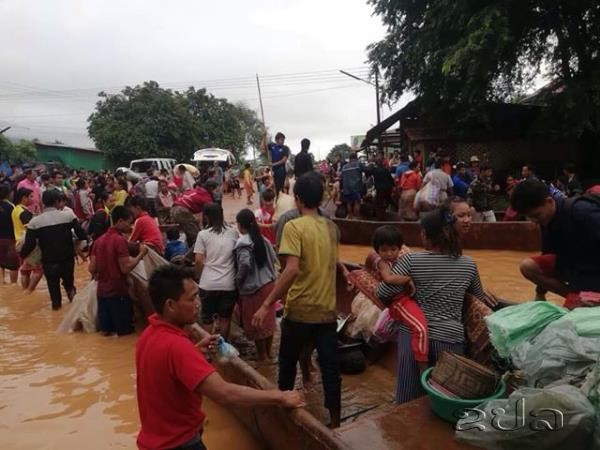 Hundreds missing after hydropower dam collapses in southeast Laos - ảnh 1
