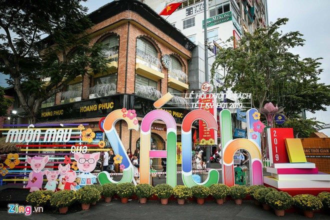 Tet book street opens in Ho Chi Minh city - ảnh 1