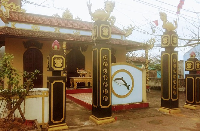 Whale worshiping ritual preserved in Canh Duong fishing village - ảnh 1