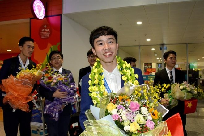 Vietnamese student wins third prize at int'l science contest in US  - ảnh 1