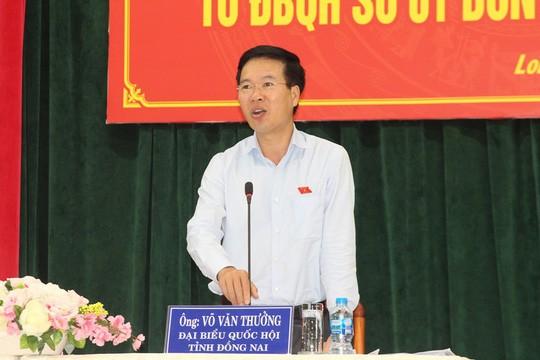 Senior leaders meet voters in Dong Nai, Bac Ninh  - ảnh 1