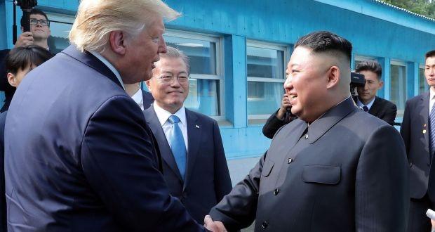 Trump hopes to meet North Korean leader soon - ảnh 1