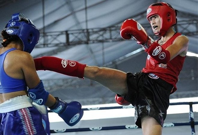 Vietnam wins golds at World Muay Thai Championships - ảnh 1