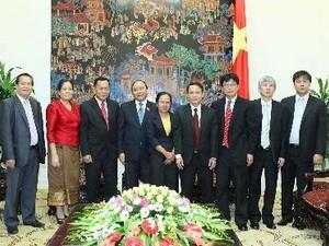 ທ່ານຮອງນາຍົກລັດຖະມົນຕີ Nguyen Xuan Phuc ຕ້ອນຮັບຄະນະຜູ້ແທນຂັ້ນສູງ KPL - ảnh 1
