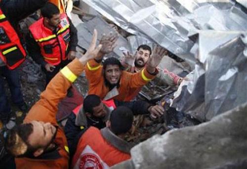 ທ່ານເລຂາທິການໃຫຍ່ ສປຊ ເລັ່ງລັດບັນດາຝ່າຍຈົ່ງຢຸດຍິງຢູ່ເຂດ Gaza - ảnh 1