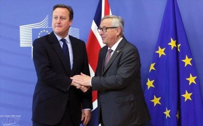 ໄຂກອງປະຊຸມສຸດຍອດ EU ປຶກສາຫາລືກ່ຽວກັບຜົນຮ້າຍຢ້ອນຫຼັງຂອງ Brexit - ảnh 1