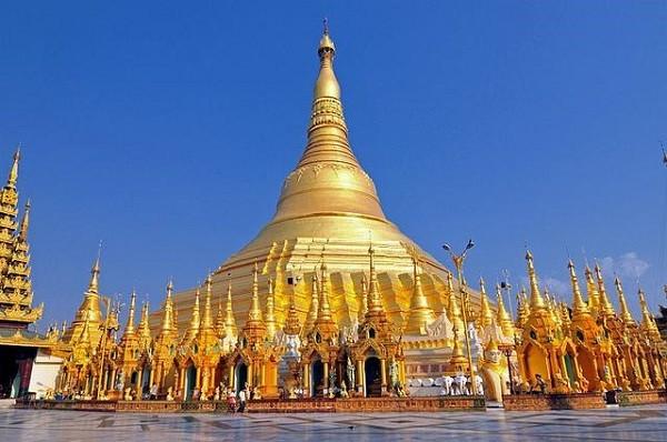 ວັດ Shwedagon ຢູ່ Yangon ປະເທດມຽນມາ- ສະຖານທີ່ດຶງດູດນັກທ່ອງທ່ຽວ - ảnh 1