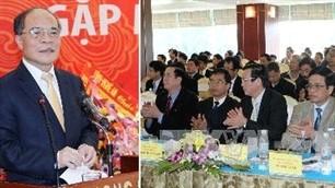 Parlamentspräsident Nguyen Sinh Hung trifft Investoren in Nghe An - ảnh 1