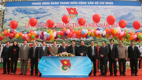 Der vietnamesische Jugendverband startet den Jugendmonat  - ảnh 1
