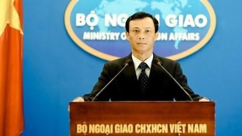Vietnam kritisiert die Arbeit Chinas auf der vietnamesischen Paracel-Insel - ảnh 1