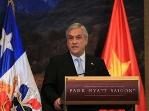 Vietnambesuch des chilenischen Präsidenten geht zu Ende - ảnh 1