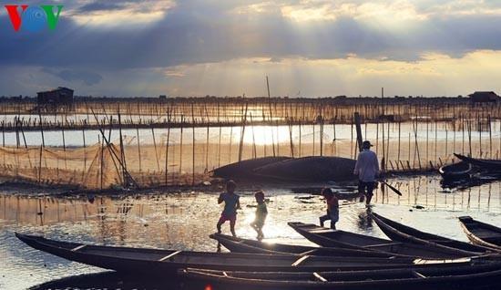 Die romantische Landschaft der Tam Giang Lagune - ảnh 14