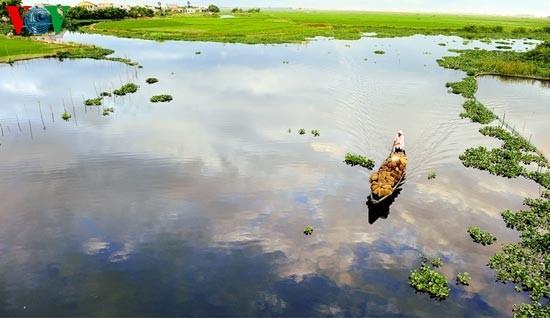 Die romantische Landschaft der Tam Giang Lagune - ảnh 2