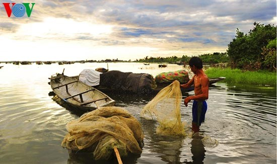 Die romantische Landschaft der Tam Giang Lagune - ảnh 4