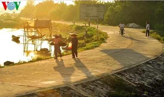 Die romantische Landschaft der Tam Giang Lagune - ảnh 6