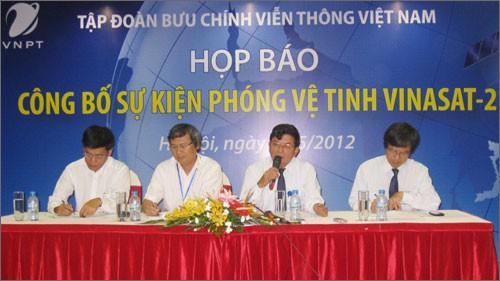 Vietnam wird Satellit Vinasat-2 ins All schicken - ảnh 1