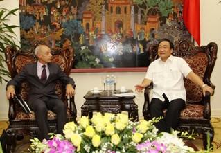 Vize-Premierminister Hai trifft IAEA-Vize-Präsident Flory - ảnh 1
