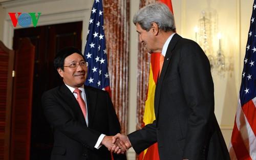 Vize-Premierminister Pham Binh Minh zu Gast in den USA - ảnh 1