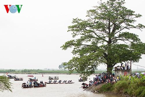 Bootsrennen im Dorf Hanh Thien - ảnh 6