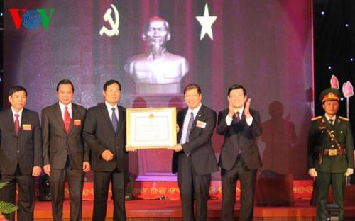Staatspräsident: Die Stadt Hai Duong nachhaltig entwickeln - ảnh 1