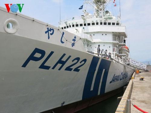 Schiff der japanischen Küstenwache besucht Da Nang - ảnh 1
