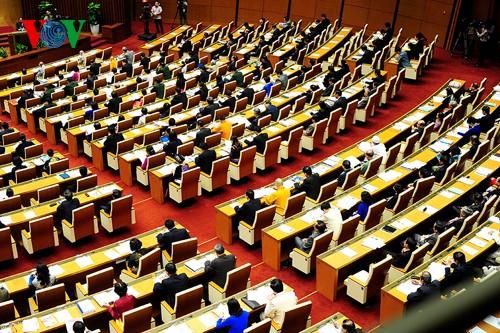 Die Eröffnung der Parlamentssitzung - ảnh 1